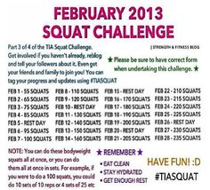 Will DO the February challenge