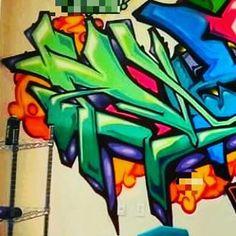 Indoor gigs are fun too  . Your name by real graffiti artists!  . #streetart #graffiti #stickers #nametattoo #graffitiart #lettering #wordart #loveart #graffitiart #lettering #graffiti_me  #drawing #penart #penartist  #colorart #colorartist #typography #art #instaart #illustration #pen #digitalart #artoftheday #artist #canvasprint #canvasart #paper #drawing #gallery #stickerart #graffiti_me_