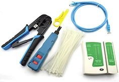 The Maxmoral Network Tool Kit – Network Wire Impact Punch Down Tool, Cable Connectors Crimper Tool, Network Cable Tester Detector ,Network Wire Stripper,Cat6 RJ45 Ethernet Patch Cables,Nylon Cable Ties  is an unique product which I've made a decision to review. Keep reading through  for i...