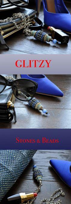 Original,Colored,fine Handmade Jewerly...By GLITZY .