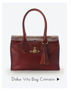Dolce Vita Bag Crimson