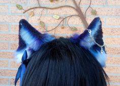 Fabric Headbands, Ear Headbands, Dog Ears Headband, Wolf Ears And Tail, Cow Ears, Neko Ears, Egirl Fashion, Lappland, Accesorios Casual