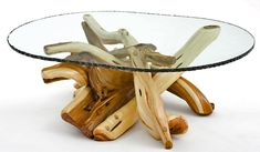 Natural Furniture - Twisted Juniper Coffee Table - Lakeside Collection    Woodland creek funiture
