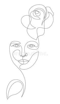 Woman Face With Rose Flower And Leaf In One Line Style. Single Continuous Line Drawing. Flower Icon Stock Vector - Illustration of flower, line: 166183201 moss benefits for women Face Line Drawing, Flower Line Drawings, Single Line Drawing, Continuous Line Drawing, Simple Face Drawing, Rose Drawing Tattoo, Outline Art, Outline Drawings, Art Drawings