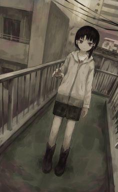 Pretty Anime Girl, Anime Art Girl, Dark Fantasy Art, Fantasy Girl, Japanese Aesthetic, Aesthetic Anime, Death Note Fanart, Black Butler Anime, Dark Anime