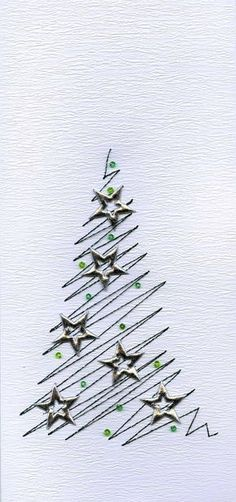 How to Make Awesome Handmade Christmas Cards Your Family Will Love – Christmas Trees Homemade Christmas Cards, Christmas Tag, Diy Christmas Gifts, Christmas Projects, Homemade Cards, Handmade Christmas, Holiday Cards, Christmas Ornaments, Christmas Ideas