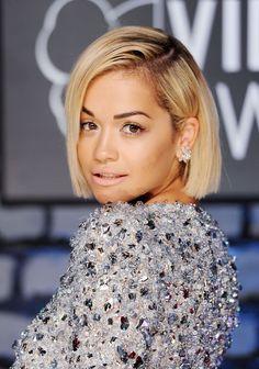 Love Rita Ora's new sleek bob!