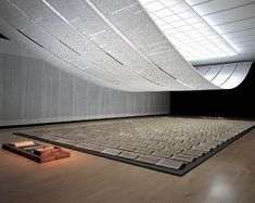 Xu Bing's Book from the Sky(1987-1991), hand printed books, ceiling and wall scrolls printed from wood letterpress type using false Chinese characters  Read more: https://www.smithsonianmag.com/arts-culture/chinas-artistic-diaspora-41622187/#JGpomUyT9Ev6mT75.99