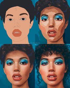 Digital Painting Tutorials, Digital Art Tutorial, Art Tutorials, Surface Book, Digital Art Beginner, Ipad Art, Photoshop, Art Studies, Art Drawings Sketches
