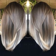 Long Wavy Ash-Brown Balayage - 20 Light Brown Hair Color Ideas for Your New Look - The Trending Hairstyle Brown Hair Balayage, Brown Blonde Hair, Brown Hair With Highlights, Light Brown Hair, Brown Hair Colors, Ashy Balayage, Sun Kissed Highlights, Baylage, Dark Blonde