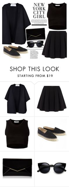 """""""N Y F W"""" by haylorx ❤ liked on Polyvore featuring Valentino, Polo Ralph Lauren, Julien David, Chanel, Furla, women's clothing, women, female, woman and misses"""
