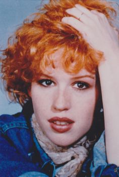 Molly Ringwald * Actress who became an icon with teenage audiences in the 1980s as a result of her starring in roles in the John Hughes movies Sixteen Candles, The Breakfast Club and Pretty in Pink.