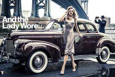 model: Keke Lindgard magazine: Glamour US 2013. photo: Ellen von Unwerth stylist: Anne Christensen