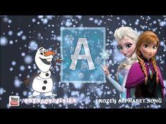 Disney Frozen: Kids Songs ABC Songs, Alphabet Song, Children Songs, Nursery Songs - YouTube