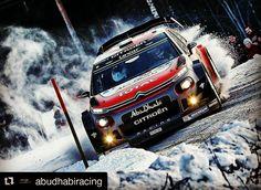It's #RallySweden time !  #Repost @abudhabiracing ... Citroën Total #AbuDhabi WRT driver @craigbreen__ holds 5th as @rallysweden enters final day. #C3WRC #CitroenRacing #AbuDhabiRacing #WRC #RallySweden @officialwrc @atworldmediaagency  فريق سيتروين توتال #ابوظبي العالمي للراليات خامسا في اليوم قبل الأخير من #رالي_السويد مع كريغ برين. #بطولة_العالم_للراليات #ابوظبي_للسباقات #ابوظبي #سيتروين_للسباقات #رالي #السويد #ثلوج #جليد