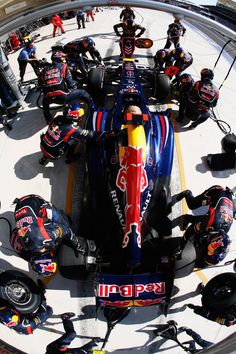 F1 pitstop, Red Bull my F1 team