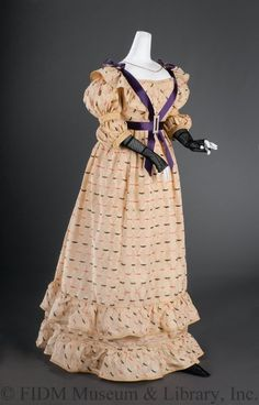 Dress ca. 1824 From the FIDM Museum