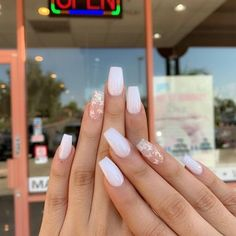 Acrylic nail designs 841539880358236749 - 29 Sleek and Stylish ACRYLIC NAILS Design Ideas for You This Year 2020 : Page 17 of 29 : Creative Vision Design Source by anxiiss Acrylic Nails Coffin Short, Simple Acrylic Nails, Natural Acrylic Nails, Summer Acrylic Nails, Best Acrylic Nails, Pastel Nails, Acrylic Nail Designs, White Acrylic Nails With Glitter, Spring Nails