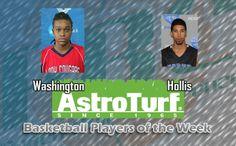 CSU's Washington, UNG's Hollis Named PBC Basketball AstroTurf Players of the Week