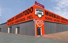muebles BOOM Fuenlabrada (Madrid) - A42, Km 18,400 esquina C/ Alcaudón 2 - Tienda Online: www.mueblesboom.com