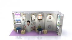 small exhibition stand ideas - Google Search Exhibition Booth, Google Search, Ideas, Design, Design Comics