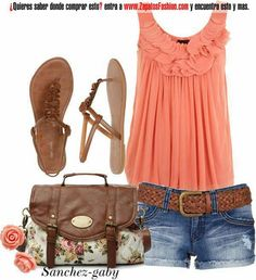 Ropa cuuuute summer outfit