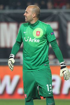 Nikolay Mihaylov Photos Photos - Nikolay Mihaylov of FC Twente in action during the UEFA Europa League group stage match between FC Twente and Levante UD held on November 8, 2012 at the FC Twente Stadion in Enschede, Netherlands. - FC Twente v Levante UD - UEFA Europa League