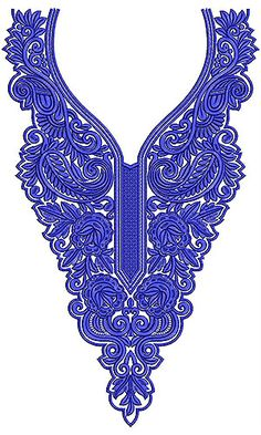 Now you can enjoy our Premium Range Embroidery Designs of Neck Embroidery Neck Designs, Machine Embroidery Applique, Free Machine Embroidery Designs, Hand Embroidery Patterns, Applique Designs, Embroidery Thread, Plus Size Sewing Patterns, Fashion Design Template, Jewelry Design Drawing