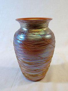 Gold Threaded Art Glass - Duran