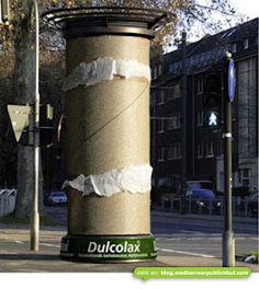 Tremenda publicidad de Dulcolax (Laxante) #BTL