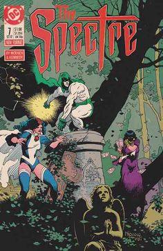 The Spectre v2 #7. Mike Mignola Cover Art. Doug Moench Story. Pieces Of Zatanna.