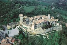 The beautiful Borgo di Vigoleno fortified village #Italy #Castles