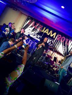 The annual Jazz Jam #JazzJam2015 #NAMM #NAMM2015 #Anaheim #California #Jazz - #SergioBellotti #drummer #Boston