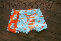 Quality Sewing Tutorials: Boys Boxer Briefs tutorial from Shwin & Shwin