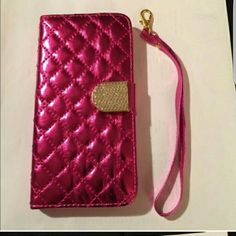 iPhone 6 and iPhone 6S Case Pink wallet/case for iPhone 6 and iPhone 6S. Accessories Phone Cases