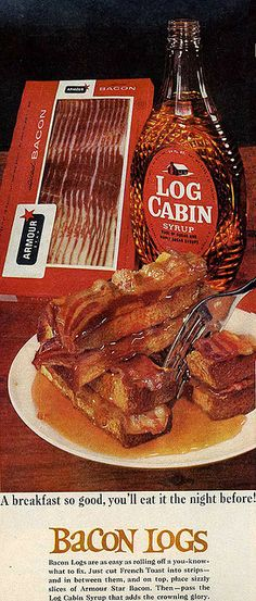 Bacon Logs - 1967 | Flickr - Photo Sharing!