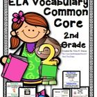 ELA Common Core Vocabulary Word Wall! Explicit vocabulary instruction is essential! This is especially important when children struggle in the area...