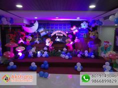 Disney Land 3 D Themes Fo birthday Party