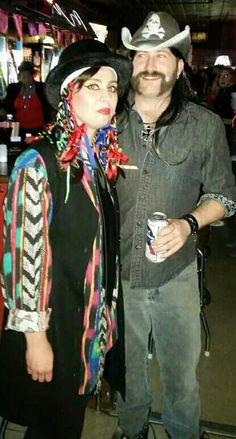 In our Boy George & Lemmy Kilmister Halloween costumes