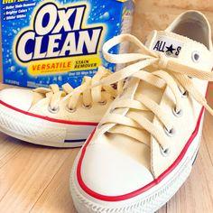 コストコで大人気のオキシクリーンを使ってスニーカーを洗ったら驚き!浸けておくだけで見違えるほどの白さになりました。年末に向けてお掃除で大忙しのママさんたちにぜひ試してほしいです! Clean Up, Your Shoes, Life Hacks, Lifestyle, Sneakers, Color, Trivia, Diy Ideas, Tennis
