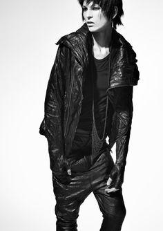 B   i   g Leather jacket