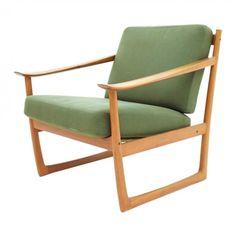 FD 130 arm chair by Peter Hvidt & Orla Mølgaard Nielsen for France & Son, 1960s