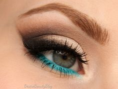 turquoise makeup african american - Google Search