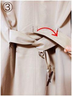 秋冬のファッショの定番アイテムトレンチコート!!結び方やベルト次第で大変身するよね。今回はそんなトレンチコートをバックで結ぶコーデを紹介します。結び方と、バック結びが似合うトレンチコートを画像で紹介しちゃいます♪人気のブランドのオススメコートもチェックしちゃおう。