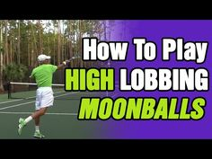 How to Handle High Balls in Tennis (Backhand and Forehand) - YouTube