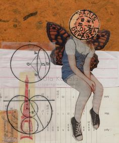 Urban Fairy | Cropping Reality Art Photography, Fairy, Collage, Urban, Facebook, Drawings, Fine Art Photography, Collages, Sketches