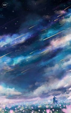 """sugarmint-dreams: """" Sometimes the universe will pose a moment so perfect you know you will never see again. Scenery Wallpaper, Galaxy Wallpaper, Wallpaper Backgrounds, Anime Galaxy, Galaxy Art, Wallpaper Animes, Galaxy Background, Sky Art, Fantasy Landscape"""