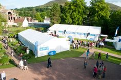 June each year sees the wonderful Borders Book Festival take place in the setting of Harmony Gardens.  http://www.bordersbookfestival.org