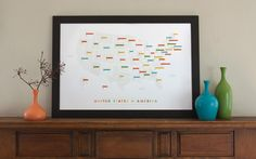Sweet, gentle map.  Great limited edition print from These Are Things.  Found via DesignSponge.