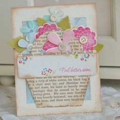 Feel-Better-Bouquet - Betsy Veldman  I honestly think I could pin everything Betsy makes. I [heart] this project!!!